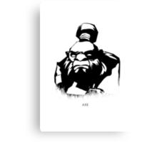Dota 2 Axe Custom Design Canvas Print