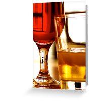Drinks Greeting Card
