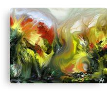 Folie de printemps Canvas Print