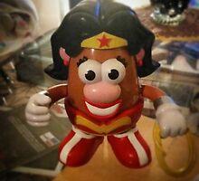 Wonder Woman meets Mrs. Potato Head! by JonnoPlaysCoC