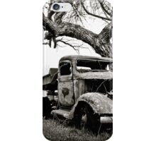 Creepy Vintage Truck iPhone Case/Skin