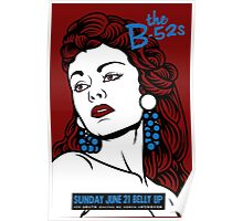 B52's Belly UP Poster