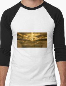 Sci Fi Sunrise Men's Baseball ¾ T-Shirt