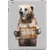 Winter survival tips iPad Case/Skin