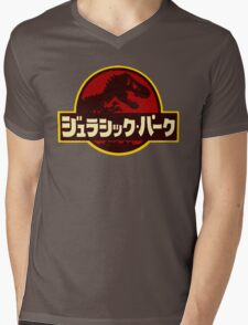 Japanese Park Mens V-Neck T-Shirt