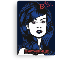 B52's at House of Blues Canvas Print