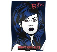 B52's at House of Blues Poster