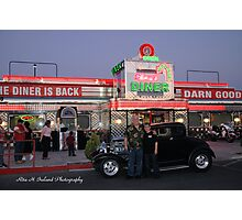Shari's Diner 50's Style/ Las Vegas.. Photographic Print