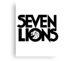 Seven Lions Logo1 Canvas Print