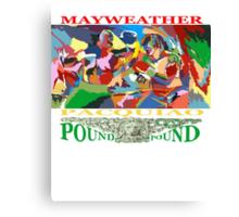 pound for pound Canvas Print