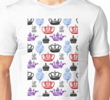 Regal Pattern of Crowns Unisex T-Shirt