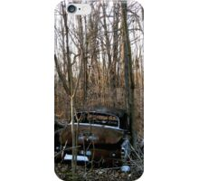 Abandoned Cars in the Woods iPhone Case/Skin