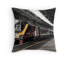 Destination - Birmingham New Street  Throw Pillow