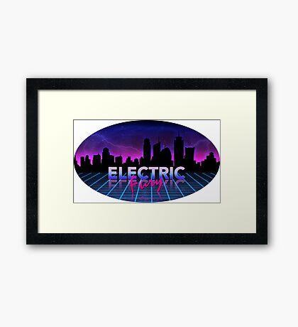 Electric Fury Framed Print