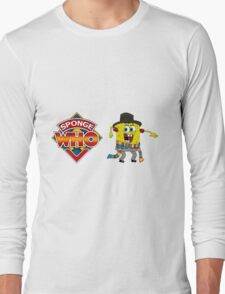 Sponge Who (Ver 2) Long Sleeve T-Shirt