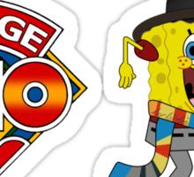 Sponge Who (Ver 2) Sticker