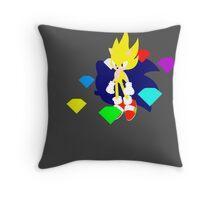 Super Smash Bros Super Sonic Throw Pillow