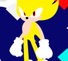 Super Smash Bros Super Sonic Sticker
