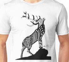 Abstract Stag Unisex T-Shirt