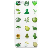 Green emoji! iPhone Case/Skin