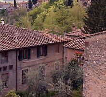 Village in Italy by alixlune