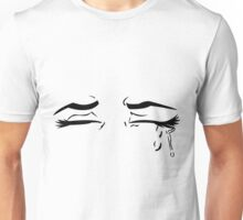 Crying Anime Eyes Unisex T-Shirt