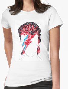 Aladdin Sane  Womens Fitted T-Shirt