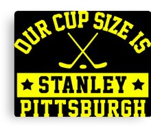 Pittsburgh Cup Size Canvas Print