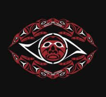 Coast Salish wolf by Mark Gauti