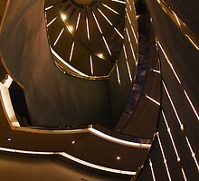 P and O's Arcadia Stairwell by Christopher Biggs