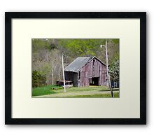 Faded and Withered Framed Print