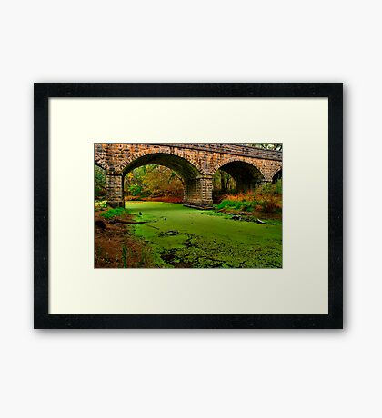 """Green River"" Framed Print"