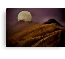 Sultry Snowdon Canvas Print