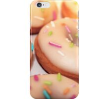Vanilla glazed donuts iPhone Case/Skin