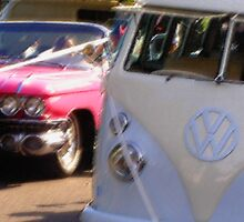Groovy wedding cars by Bernadette Madden