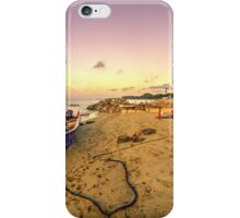 Boat and rope  iPhone Case/Skin