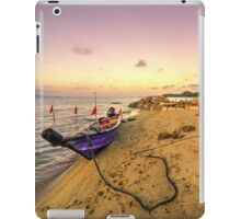 Boat and rope  iPad Case/Skin