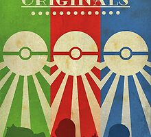 Pokemon - Art Deco Style by Firenutdesign
