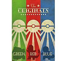 Pokemon - Art Deco Style Photographic Print