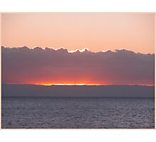 Sunset at Goold Island North Queensland Australia Photographic Print