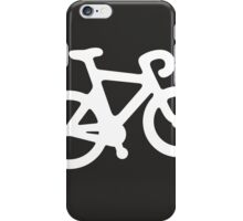 White ghost bike iPhone Case/Skin