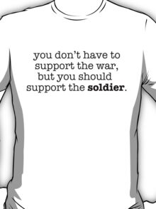 Support The Soldier T-Shirt