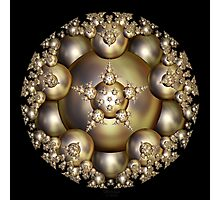 'Golden Pearl Cluster' Photographic Print