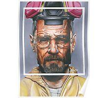Oil Painting of Heisenberg Poster