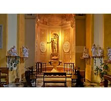 Collegiata of San Michele Arcangelo - Brisighella - Italy Photographic Print