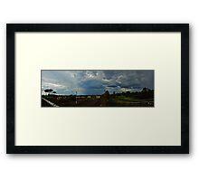 An Autumn Storm Framed Print