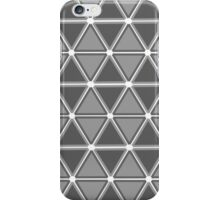 Geometric - Grey iPhone Case/Skin