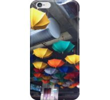 upside down brolly iPhone Case/Skin