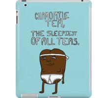 chamomile tea: regular show. iPad Case/Skin