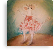 Bianca ...of the MerryMice Dance Company Canvas Print